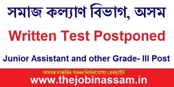Social Welfare, Assam