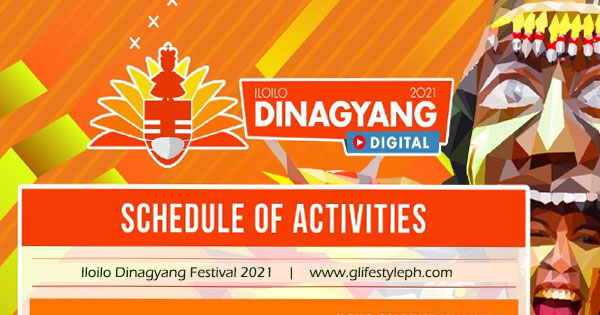 Iloilo Dinagyang Festival 2021 Schedule of Activities