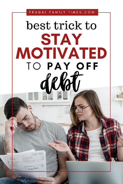 keep motivated to pay off debt