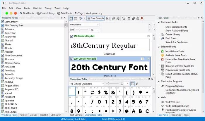 FontExpert full version