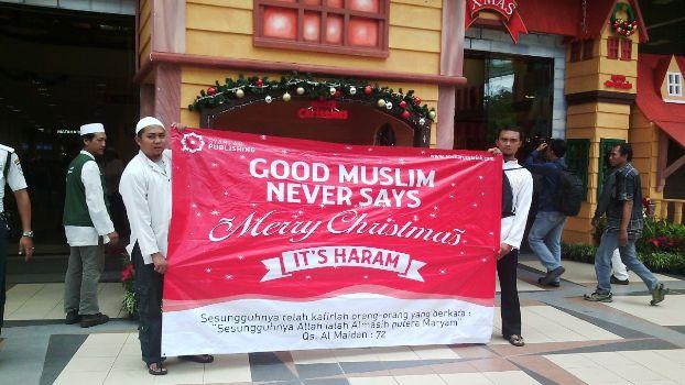 muslim yang baik tidak mengucapkan selamat natal