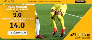 betfair supercuota liga Real Madrid gana Villarreal 16 julio 2020