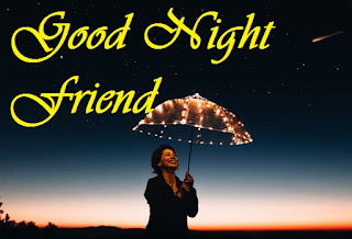 good night facebook friends wallpaper