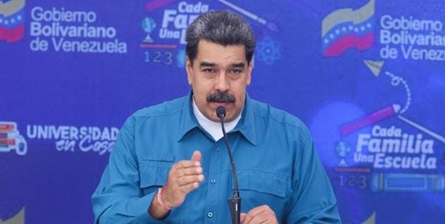 MADURO: PARA LA OPOSICIÓN HACER MARCHAS ES UN NEGOCIO, LA OFAC LES PAGA