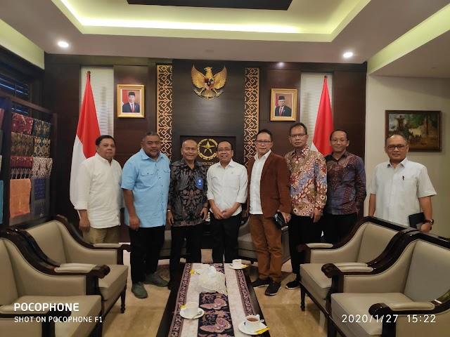 Mensesneg Pratikno : Presiden Siap Hadir di Acara Puncak HPN 2020 Di Banjarmasin