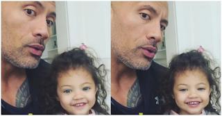Είναι η κόρη του «Τhe Rock» το επόμενο ωραιότερο κορίτσι στον κόσμο;