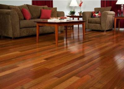 Kết hợp sàn gỗ Giáng Hương và phong cách Phương Tây