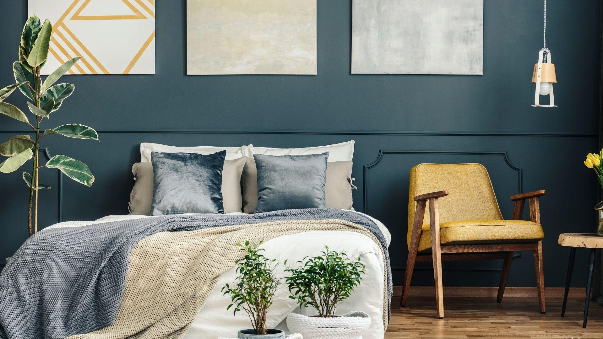 kolory ścian do sypialni 2021