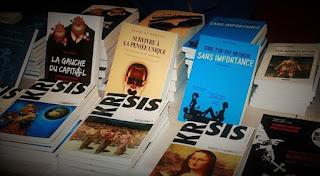 éditions Krisis, en vente sur Krisis Diffusion