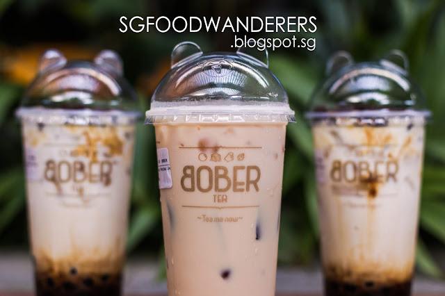 Bober Tea Opens at Bukit Panjang + Giving FREE Drinks when you take a Selfie!