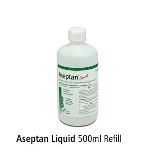 X-Logers.net Next Refil Aseptic Gel Aseptan 500ml Refill Onemed Antiseptic