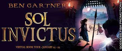 Goddess Fish tour banner for Sol Invictus