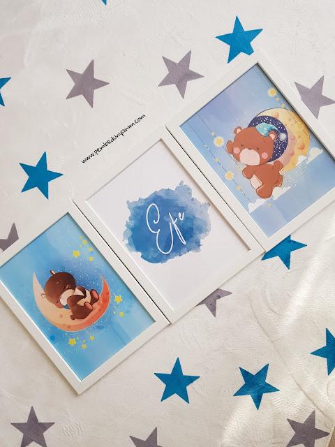 Bebek odası posterleri