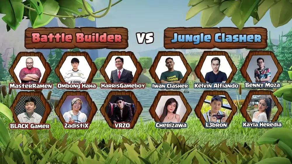 Battle Builder v Jungle Clasher
