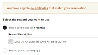 How To Use Marriott Free Night Certificate