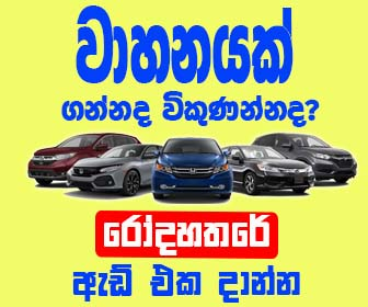 sell cars sri lanka ad