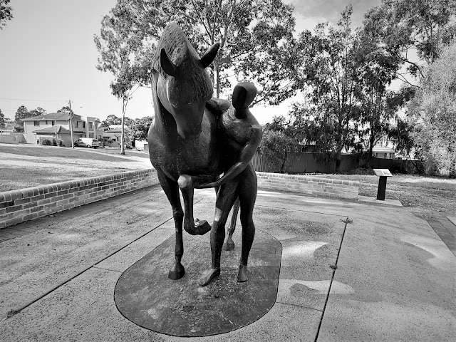 Holsworthy   Light Horse Monument by Larissa Smagarinsky