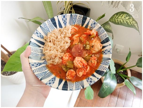 receita de gumbo creole