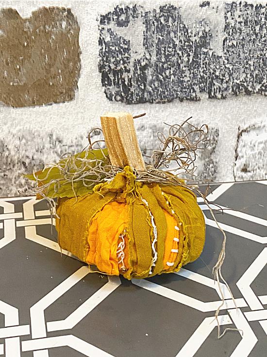fat rag pumpkin