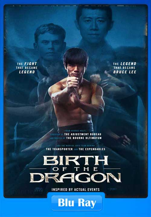 Birth Of The Dragon 2016 720p BluRay 700MB x264 Poster