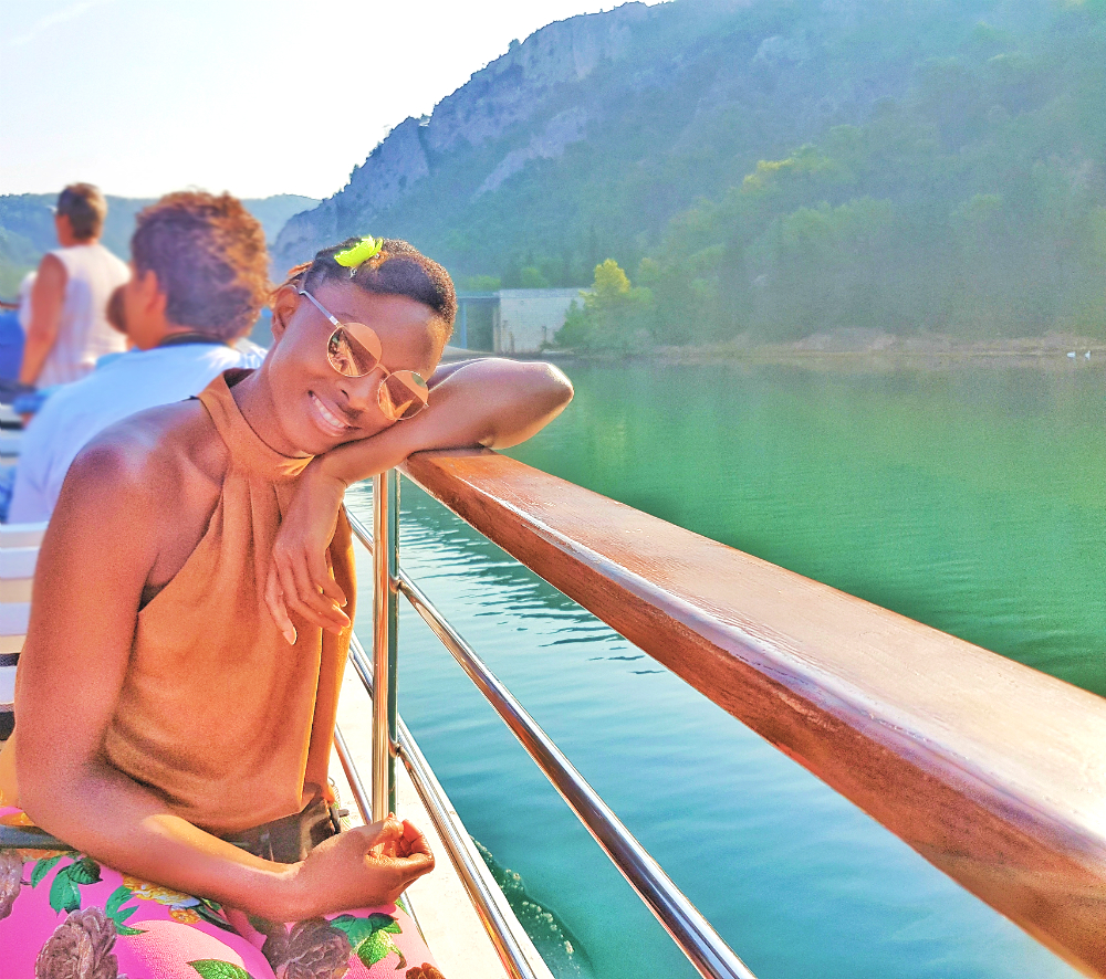 Krka national park boat ride