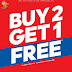 Sports Direct Kuwait - Buy 2 Get 1 Free
