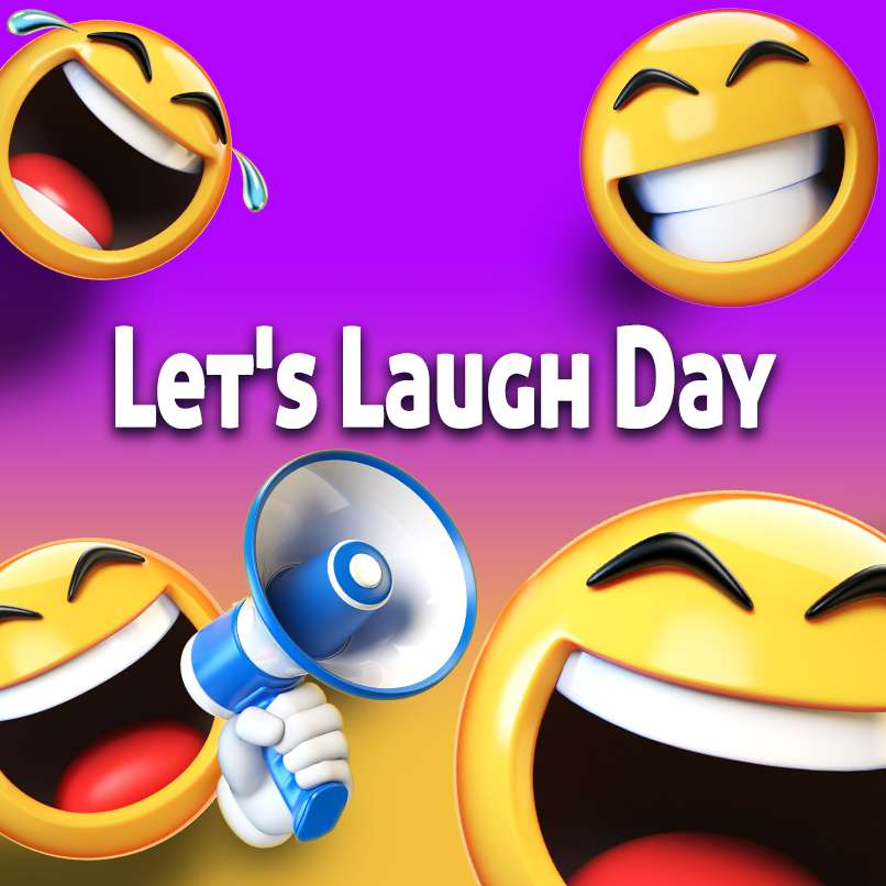 National Let's Laugh Day Wishes Lovely Pics
