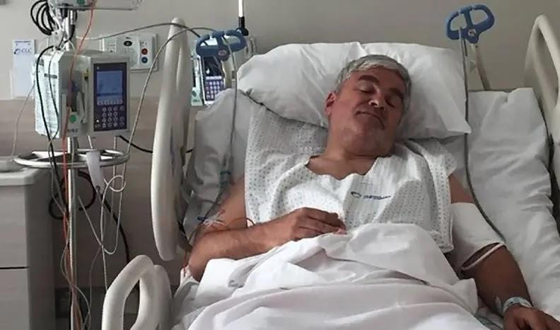 Fuerte caída dejó a Nicolás Larraín con una costilla fracturada