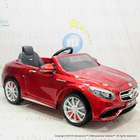 Mobil Mainan Aki Pliko HI-169/PK8200N Mercedes Benz S63 AMG Coupe Lisensi