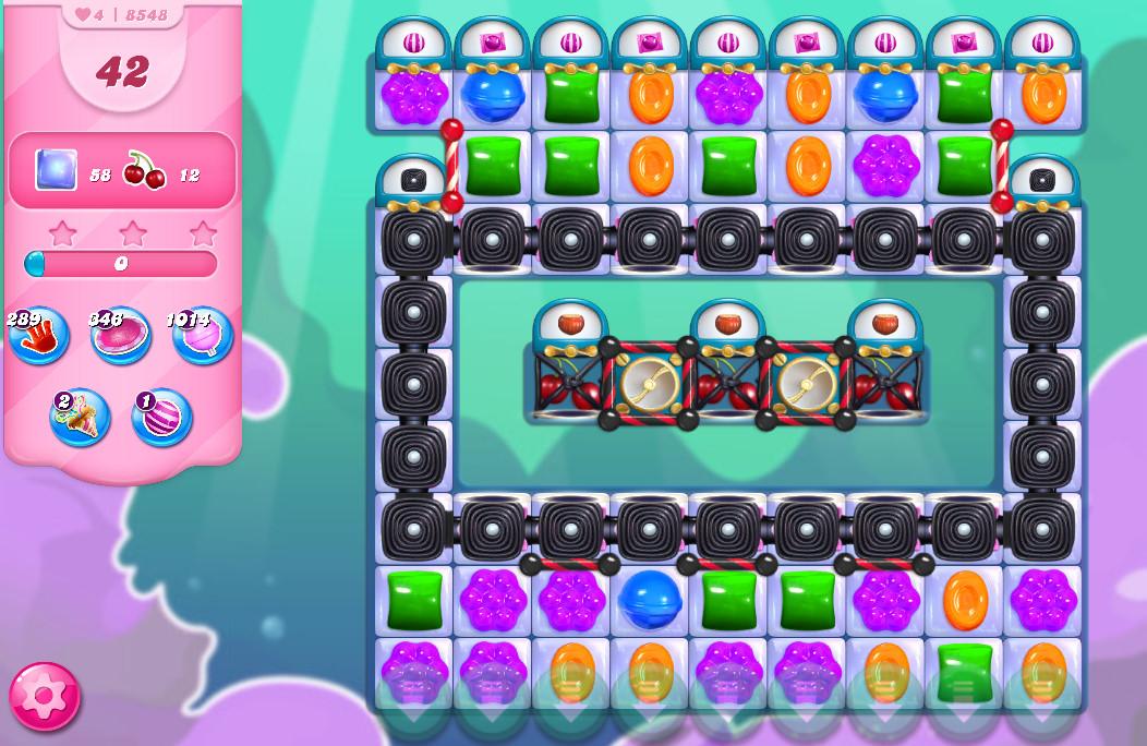 Candy Crush Saga level 8548