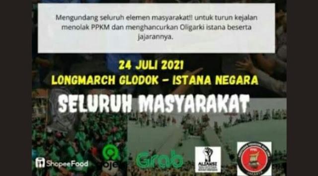 Demo Jokowi Tak Terjadi, Netizen: Goreng Sendiri, Heboh Sendiri, Akal-akalan Buzzer Alihkan Isu