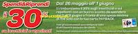 Logo Carrefour: Spendi & Riprendi il 30% della spesa