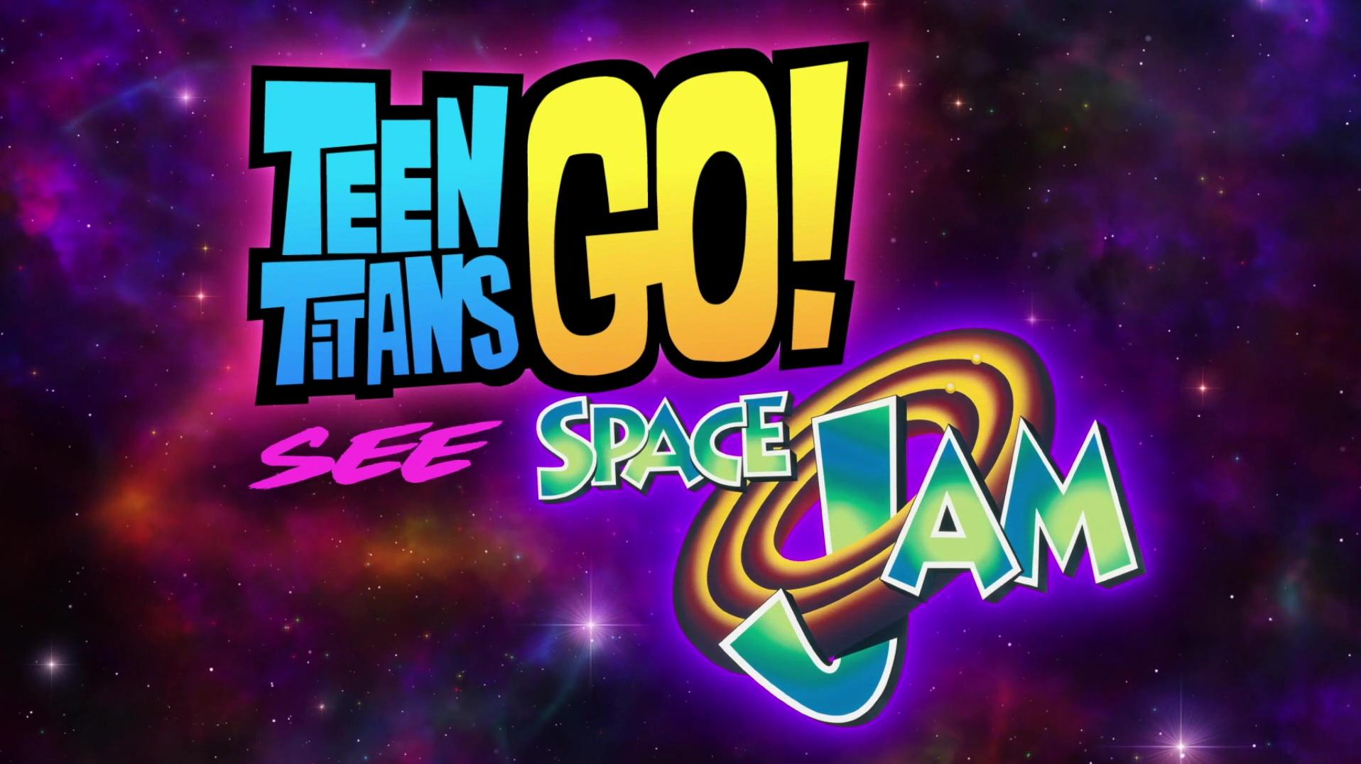¡Los Jóvenes Titanes en Acción! ven Space Jam (2021) 1080p WEB-DL Latino