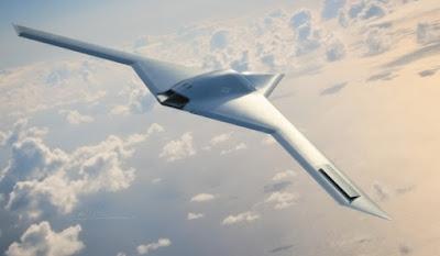 RQ 180 AWST Ovni triangulares son aeronaves terrestres y que la fuerza aérea norteamericana ha estado ocultando o por lo menos así lo cree investigador