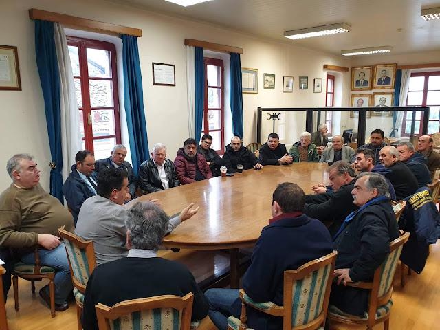 Τι απασχόλησε την σύσκεψη του Δημάρχου Ναυπλιέων με τους προέδρους των τοπικών συμβουλίων