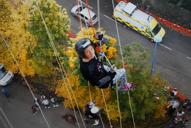 Abseil for Scottish Association for Mental Health