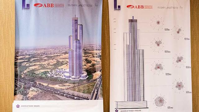 Construirá el primer rascacielos de 270 metros en Armenia