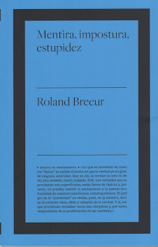 Roland Breeur (Mentira, impostura, estupidez)