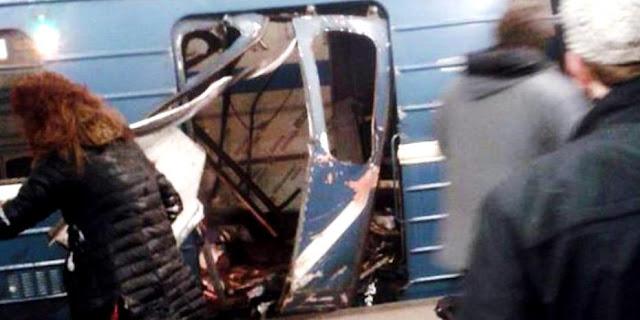 Φονική επίθεση στο μετρό της Αγίας Πετρούπολης