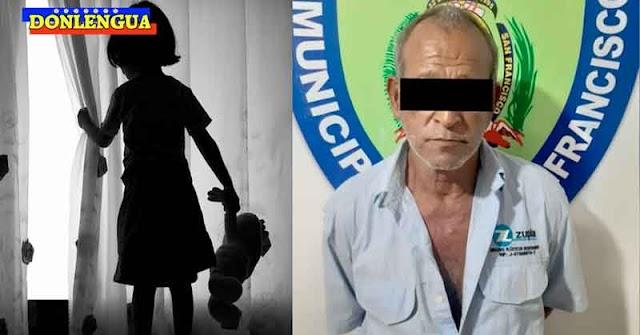 Militante Chavista detenido en el Zulia por abusar de su propia sobrina de 7 años