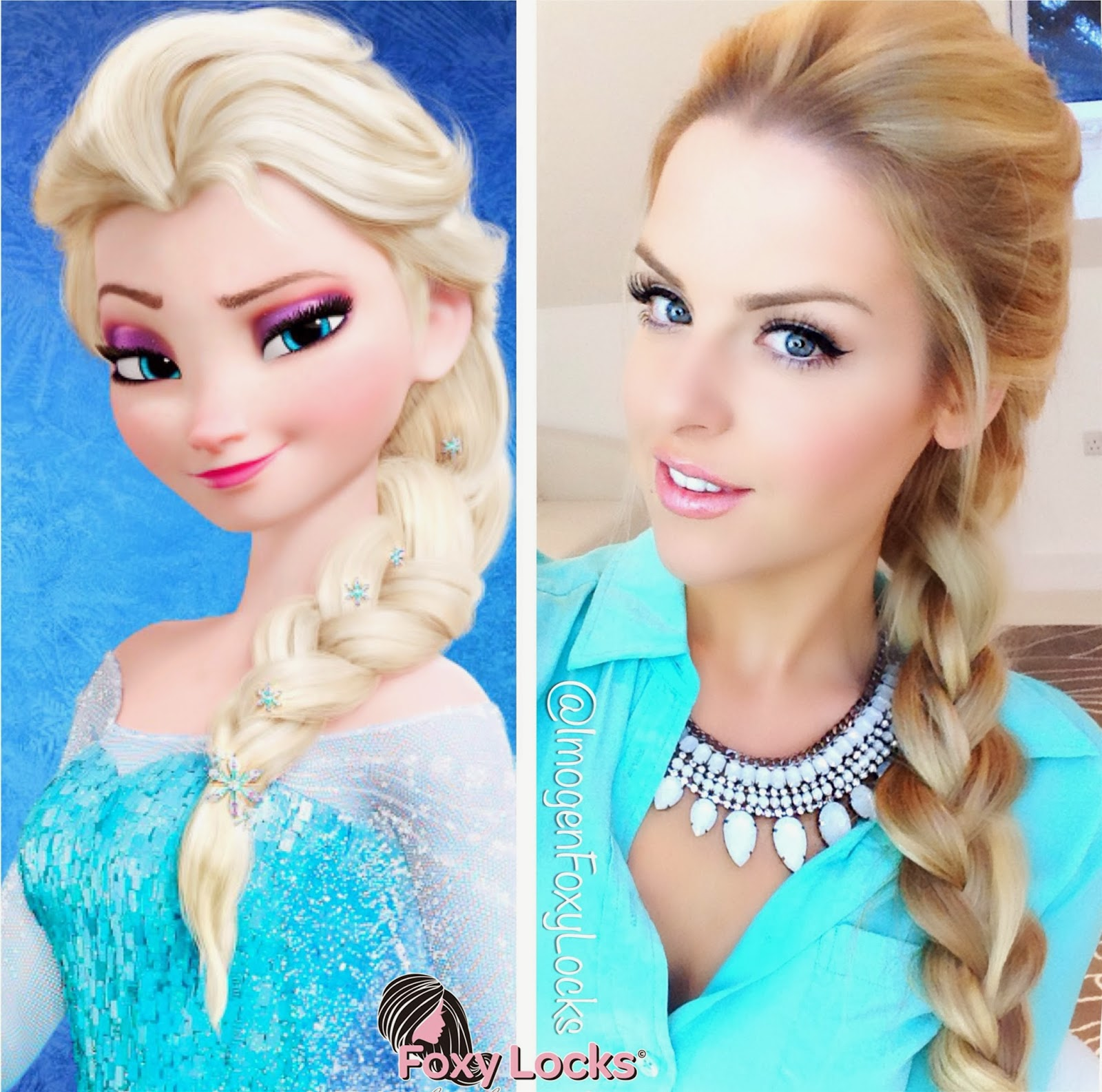 elsa hair style imogen foxy locks volumised braid hairstyle 1554