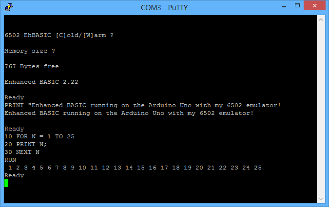 telmomoya: C64 powered by ARM running 6502 emulator