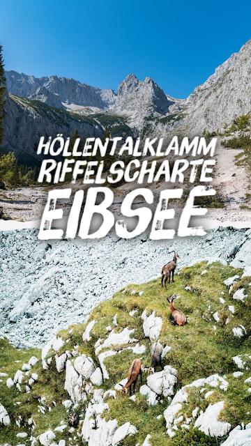 Höllentalklamm - Riffelscharte - Eibsee  Wandern in Garmisch-Partenkirchen 20