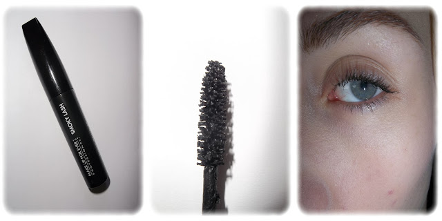 Swatch Mascara Smocky Lash Teinte Noire - Make Up For Ever