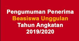 Info Beasiswa Dan Pendaftaran Beasiswa Unggulan Kemdikbud Tahun Ajaran 2019/2020