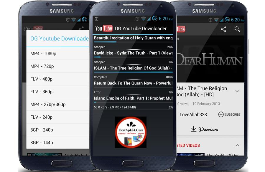 OG Youtube downloader Pro APK 2015