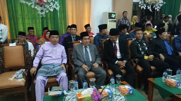 Wako AJB Hadiri Rapat Paripurna HUT Ke-20 Kabupaten Tebo