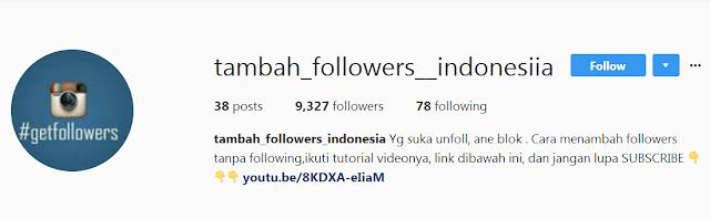 Cara menambah follower Instagram