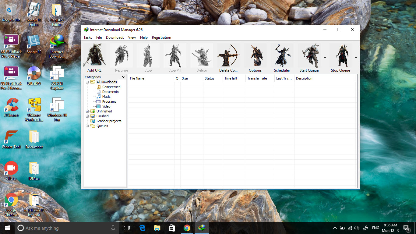 Tuyển chọn một số skins toolbar siêu đẹp cho phần mềm internet download manager