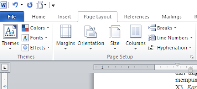 Cara Membagi Satu Kertas Menjadi Dua Halaman di Microsoft Word, cara membuat dokumen menjadi dua bagian pada microsoft word, cara membelah dokumen pada microsoft word, cara membuat dokumen menjadi dua paragraf